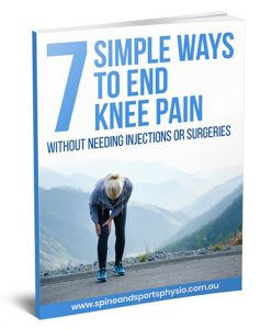 7 Simple Ways to End Knee Pain