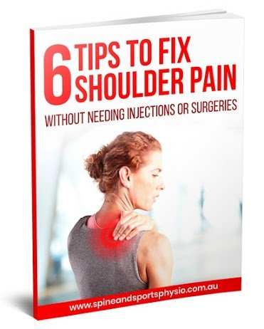 6 Tips to Fix Shoulder Pain